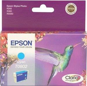 R265/360,RX560 Cyan Ink cartridge (T0802)