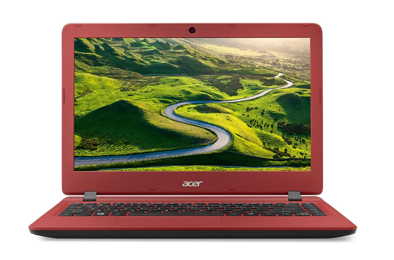 Acer Aspire ES 13 13,3/N4200/4G/64GB/W10 černo-červený