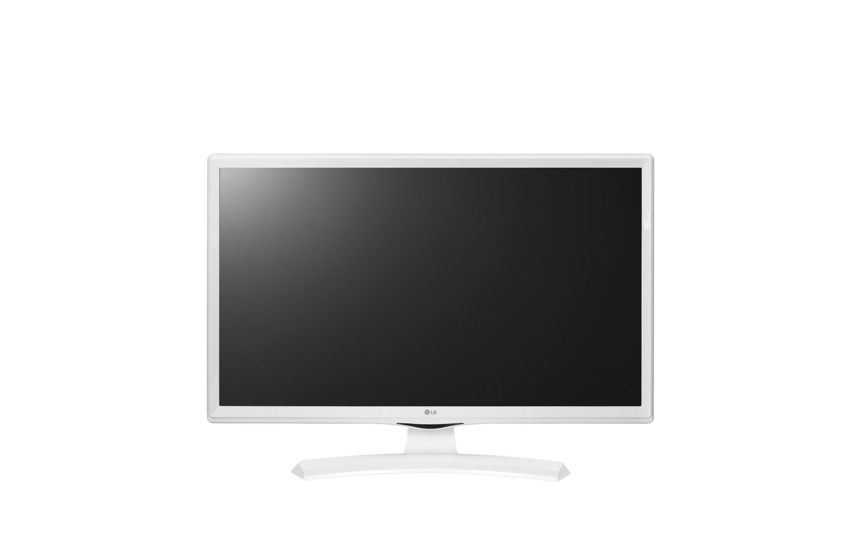 "28"" LG LED 28MT49VW-WZ- HD Ready, 16:9, HDMI, DVB-T2/C/S2, barva bílá"