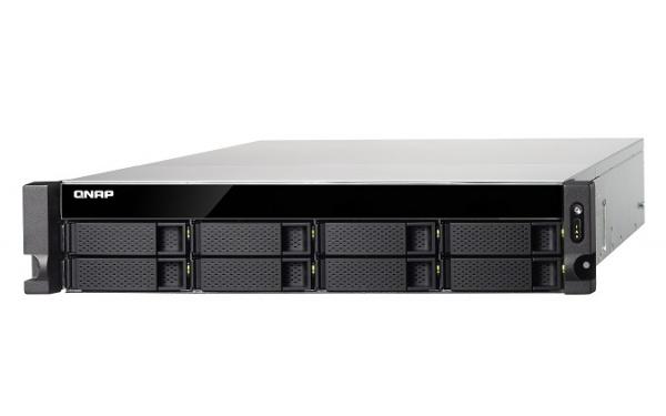 QNAP TS-831XU-RP-4G Turbo NAS Server, 1,7GHz QC/4GB/8x HDD HP/2xGL+2x10GL/USB 3.0/R0,1,5,6/2x250W/iSCSI/RACK 2U