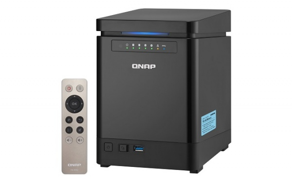 QNAP TS-453BMini-4G Turbo NAS server, 1,5 GHz QC/4GB/4x HDD/2xGL/HDMI/USB 3.0/iSCSI/R0,1,5,6/DO