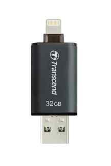 Transcend 32GB JetDrive Go 300, Lightning/USB 3.1, černý