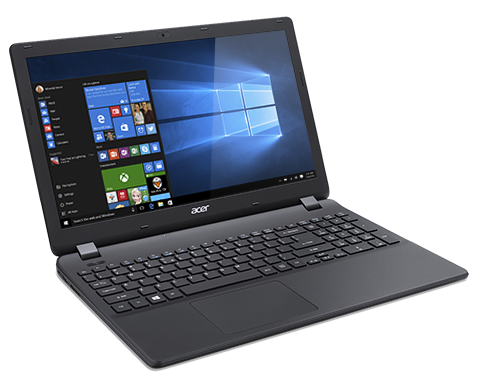 "Acer Extensa 15 (EX2519-C7YX) Celeron N3160/4GB+N/1TB+N/DVDRW/HD Graphics/15.6"" HD matný/BT/W10 Home/Black"