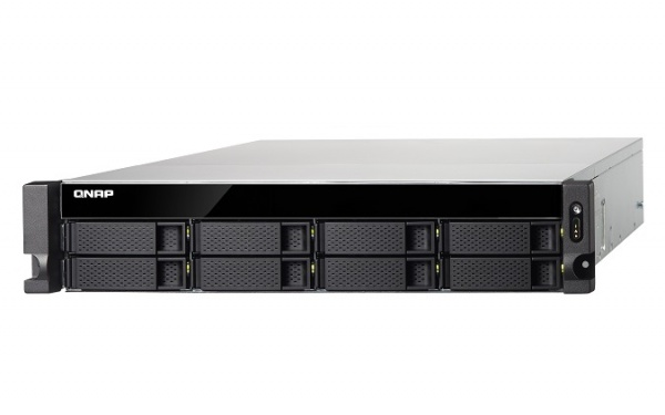 QNAP TS-831XU-SP-4G Turbo NAS Server, 1,7GHz QC/4GB/8x HDD HP/2xGL+2x10GL/USB 3.0/R0,1,5,6/x240W/iSCSI/RACK 2U