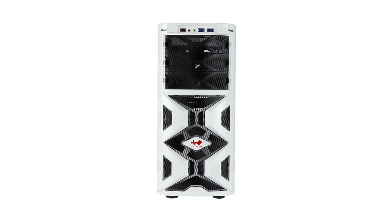 Midi In-Win Mana 136 white/USB2.0/USB3.0/HD audio
