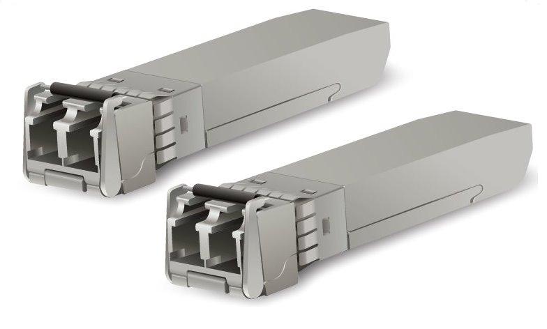 Ubiquiti UF-MM-10G 10Gbps SFP+ SR-LC (Multi-Mode Fiber) 850nm 300m - 2-Pack