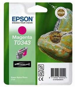 EPSON Ink ctrg magenta pro Stylu Photo 2100(T0343)