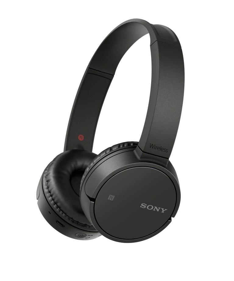 SONY MDR-ZX220BT Bezdrátová Bluetooth sluchátka přes hlavu - černá