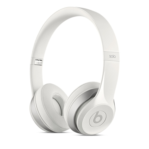 Beats Solo2 On-Ear Headphones - White