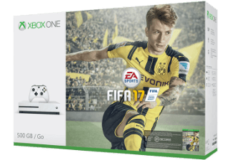 Xbox One S 500GB + Fifa 17 + 6M live + 1M EA Access