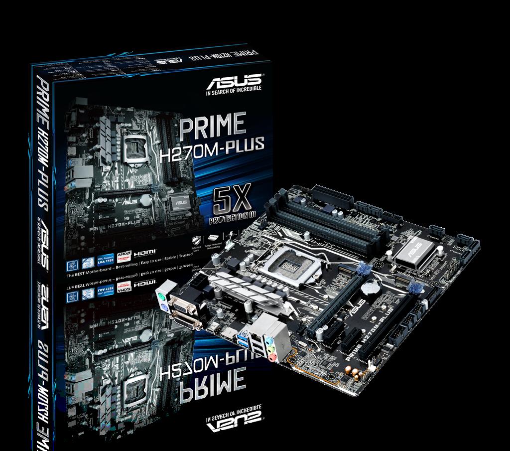 ASUS PRIME H270M-PLUS, LGA1151, H270, M.2, mATX , USB 3.1
