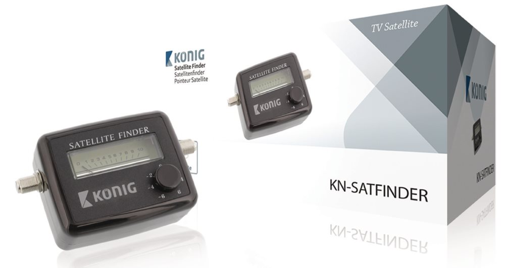 König KN-SATFINDER - Satelitní měřič síly signálu