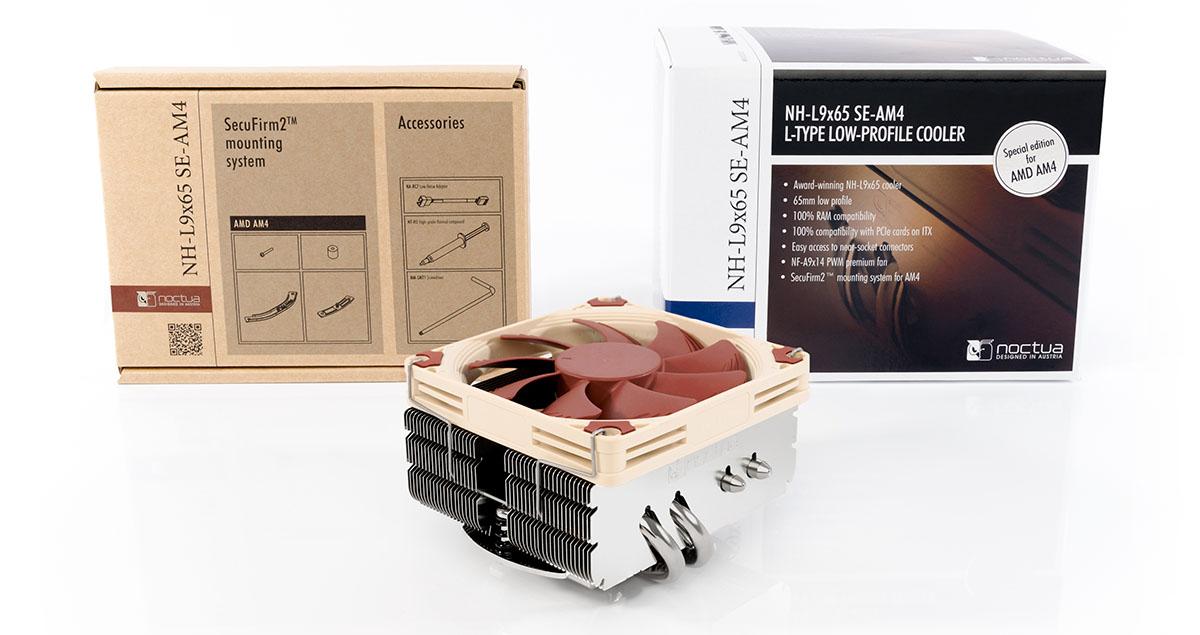 NOCTUA NH-L9x65 SE-AM4 - chladič procesoru