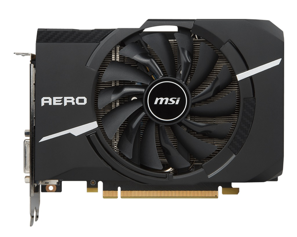MSI VGA NVIDIA GeForce GTX 1070 AERO ITX 8G OC