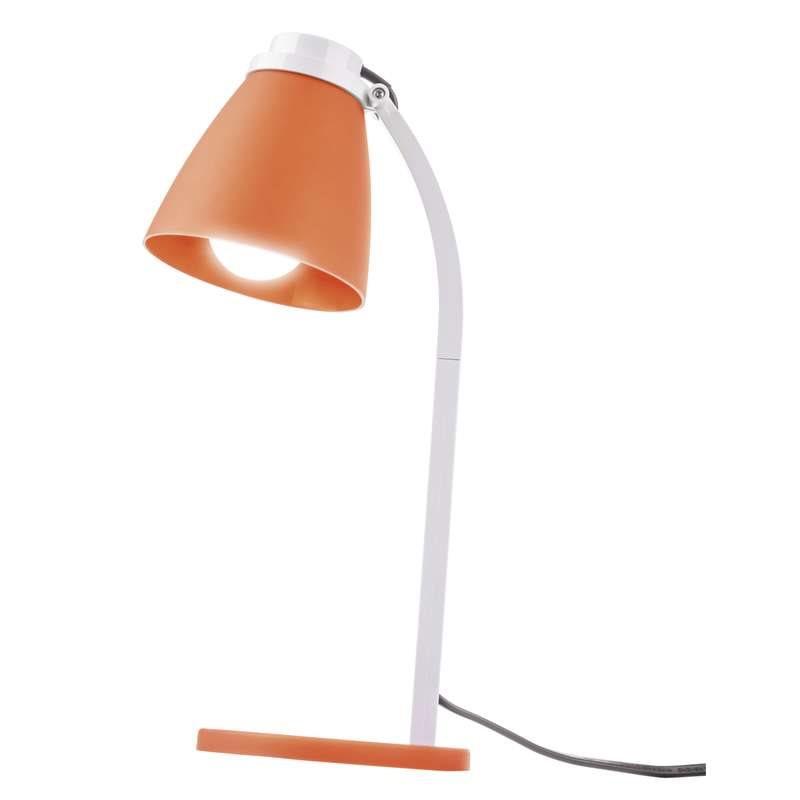 Emos LED stolní lampa Lolli, 6W, 500 lm, oranžová