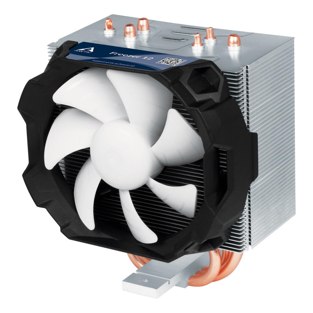 ARCTIC Freezer 12, CPU Cooler for Intel socket 2011(-v3)/1150/1151/1155/1156 & AMD socket AM4, direct touch technology