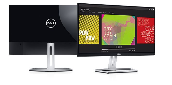 "DELL S2218H 21,5"" WLED/1000:1/6ms/VGA/HDMI/Full HD/IPS panel/2x3W/cerny"