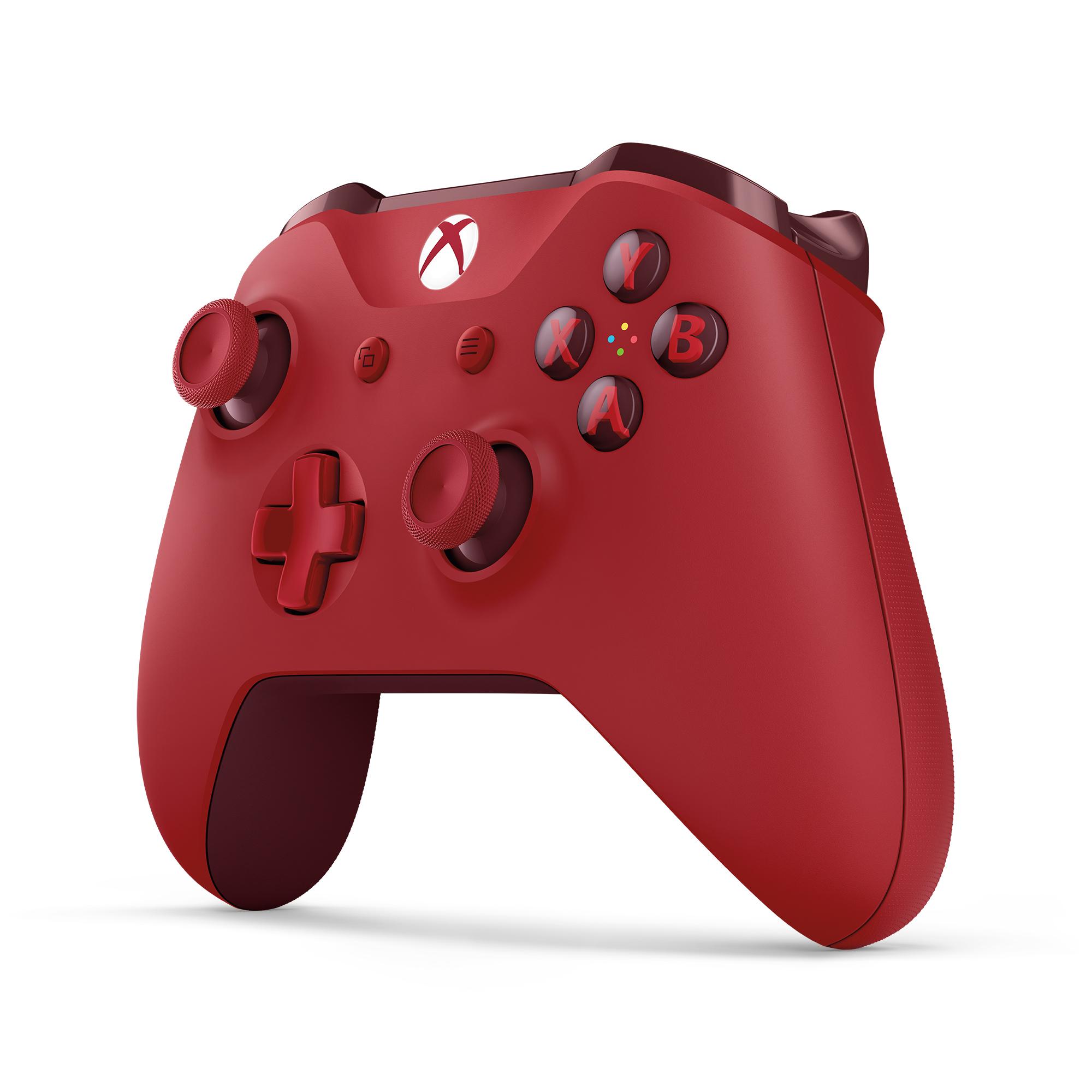 XBOX ONE - Bezdrátový ovladač Xbox One S červený [Eddy]