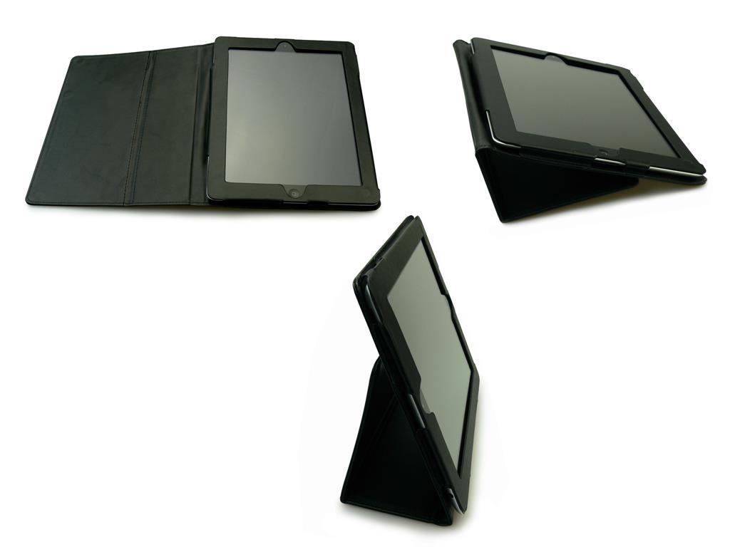 Sandberg kožený kryt se stojánkem pro iPad 2/3/4
