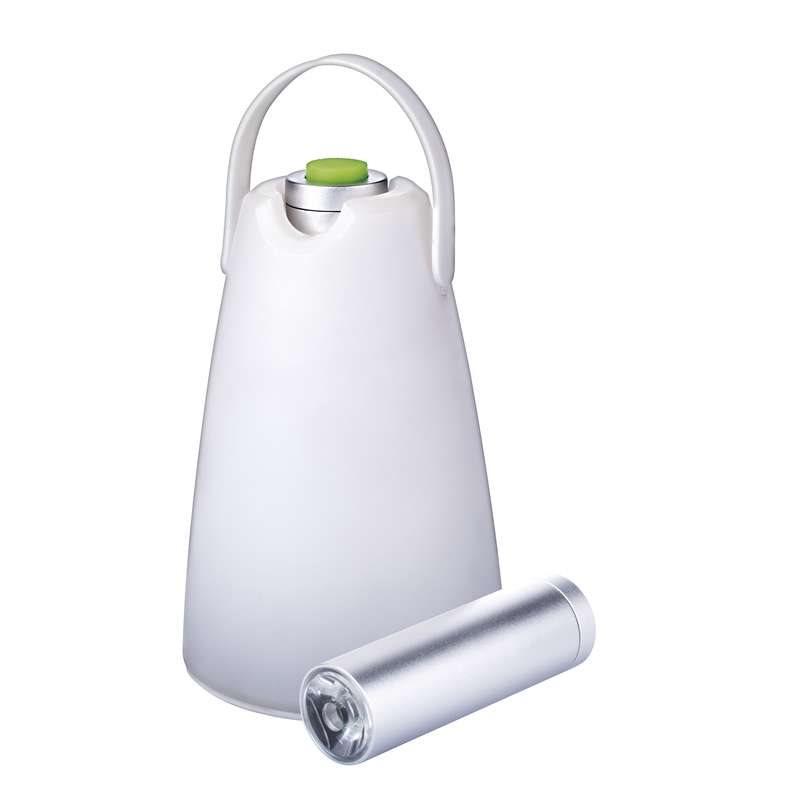 Emos LED svítilna kempinková 2v1, 1W LED, 60 lm, 3x AAA