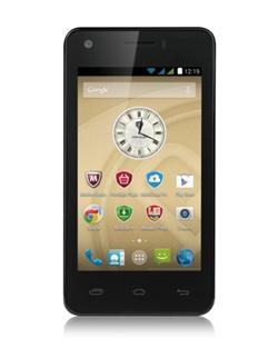 "PRESTIGIO MultiPhone 5454 DUO, 4,5""qHD IPS, Dual SIM, Android 4.4,Quad Core 1,2GHz, 8GB ROM,1GB RAM, komplet, BAZAR"