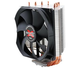 Zalman chladič CPU CNPS11X PERFORMA 120mm PWM Fan, 4x heatpipe