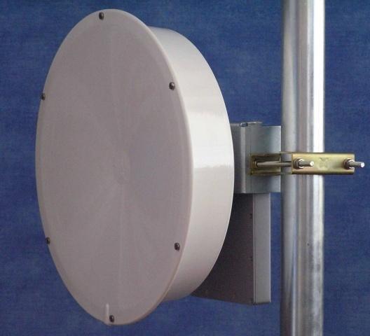 Jirous JRE-28EX UPB [Duplexní směrová parabola s límcem 28dBi k UBNT PowerBridgeM10 (2pack)]