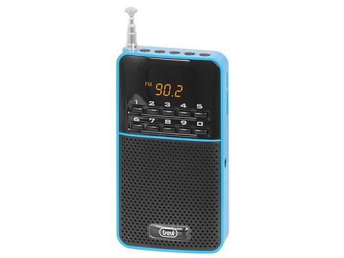 DR 730 M/BL Kapesní rádio, PLL tuner FM