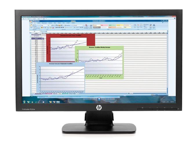 HP ProDisplay P223/21,5''/1920x1080/5ms/16:9/250cd/3000:1/VGA,DP