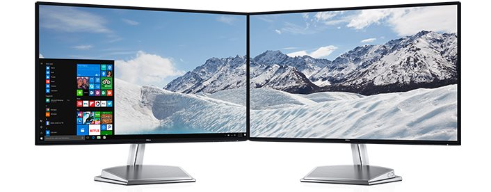 "Dell S2718H WLED LCD 27""/6ms/1000:1/UHD/VGA//HDMI/USB/IPS panel/repro/cerny"