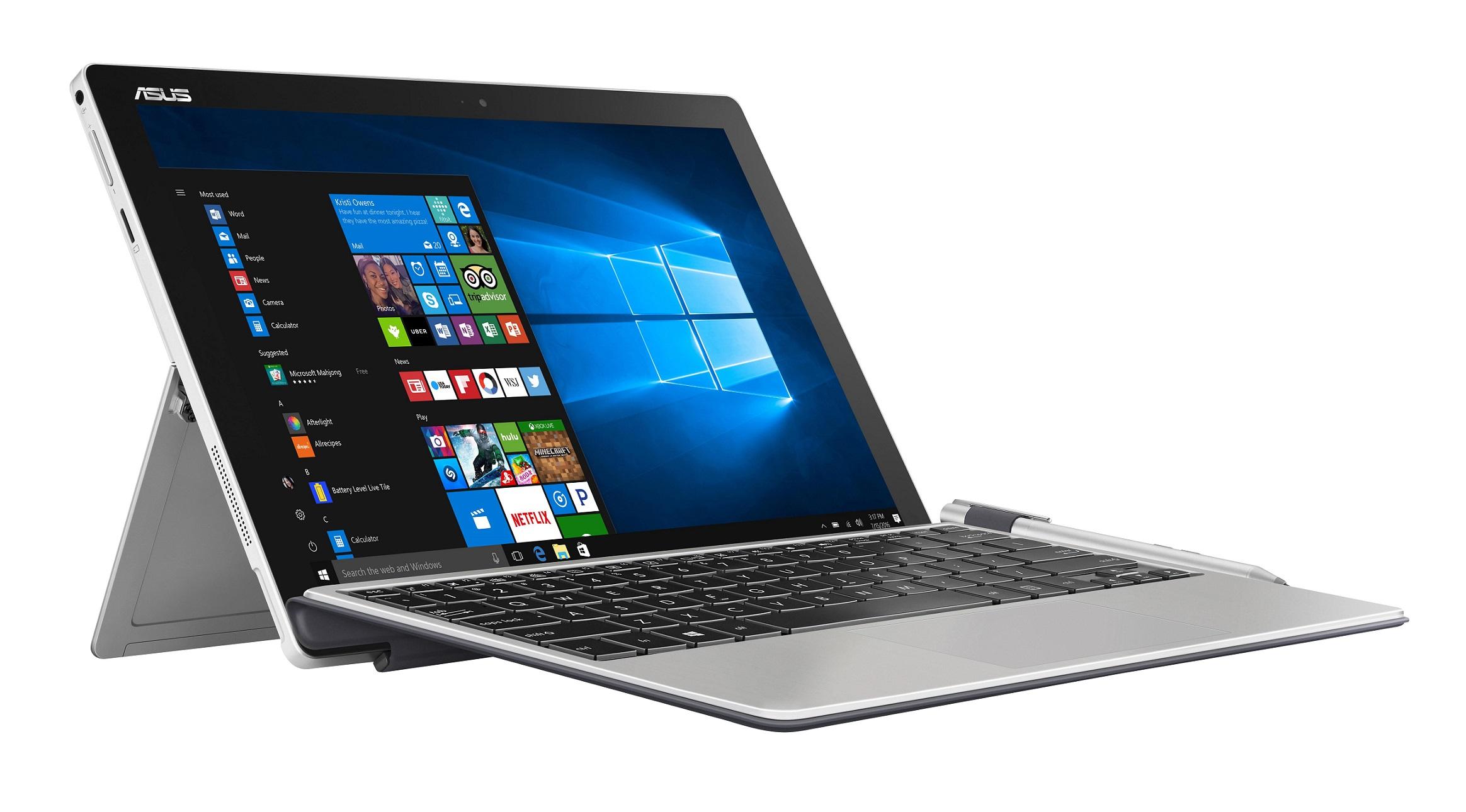 """ASUS T304UA-BC005R i7-7500U/8GB/512G SSD SATA3/HD graphics/12,6"""" 2880x1620 IPS Touch lesklý/W10 Pro/Grey"""