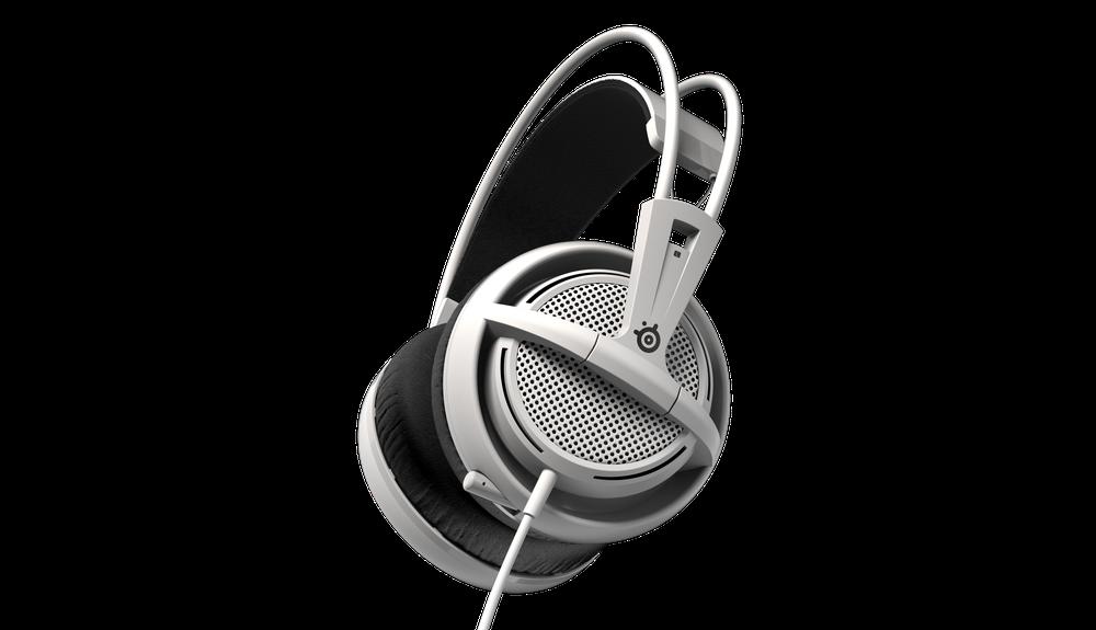 Gaming headset SteelSeries Siberia 200, White