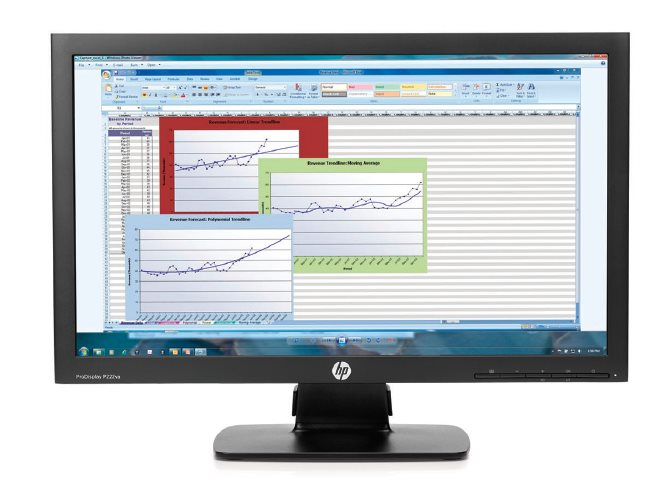HP ProDisplay P222va/21,5''/1920x1080/8ms/16:9/250cd/3000:1/VGA,DP