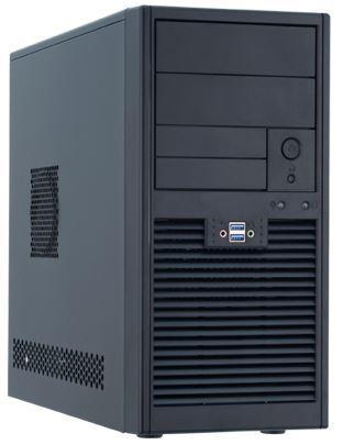 Chieftec PC skříň Smart SD-01B-U3-400S8, mATX, zdroj 400W