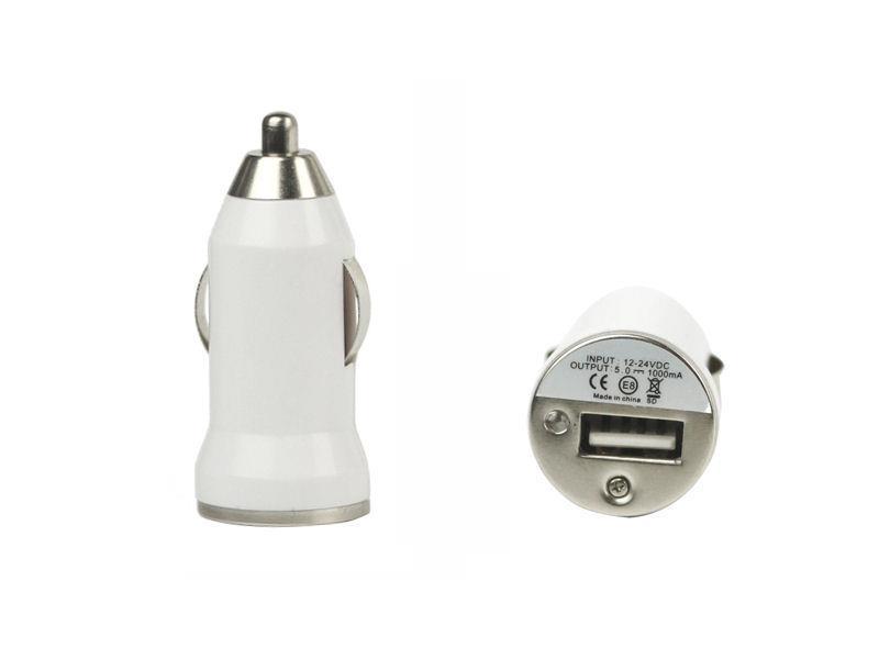 Qoltec Nabíječka do auta 12V-24V | 5V | 1A | USB