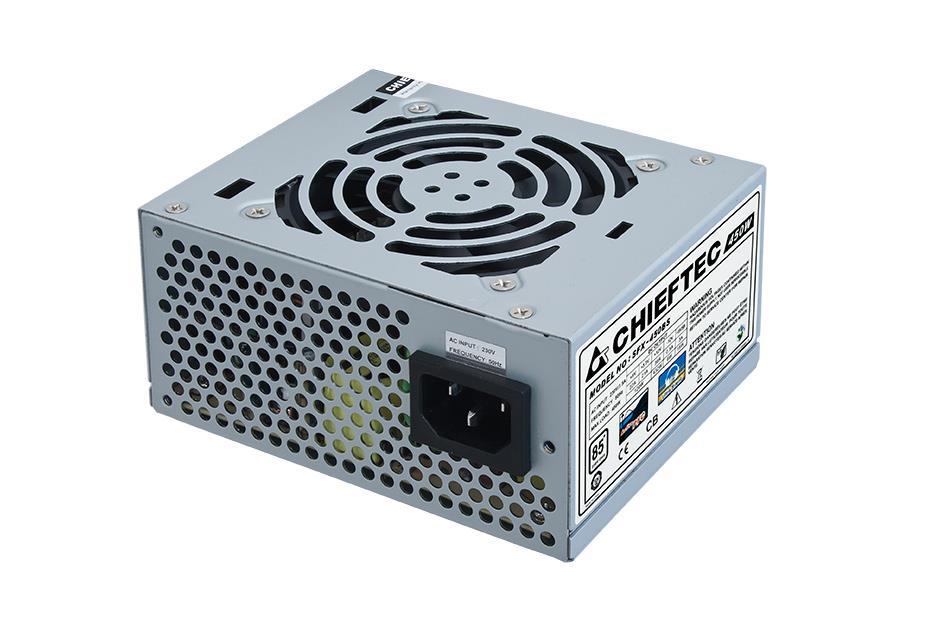 Chieftec SFX zdroj SMART SFX-450BS, 450W bulk, 8cm ventilátor, aktivní PFC