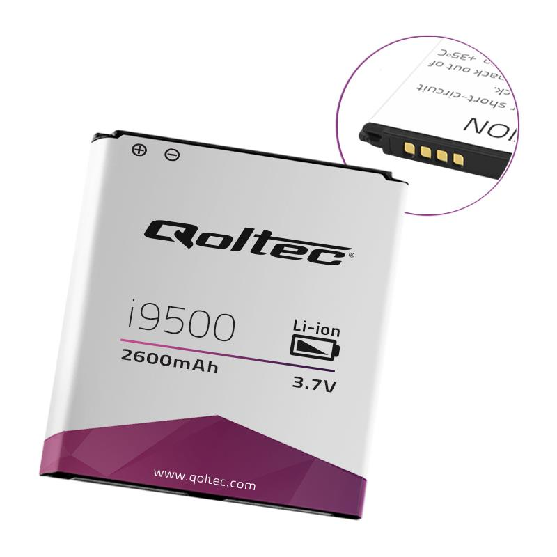 Qoltec Baterie pro Samsung Galaxy S4 i9500 | 2600mAh