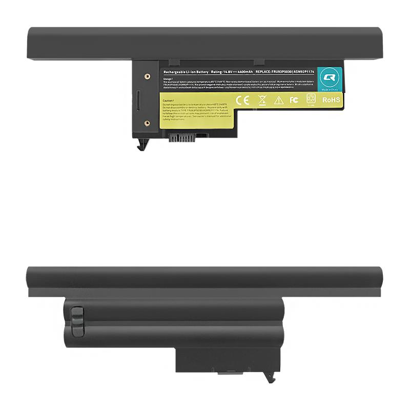 Qoltec Long Life baterie pro notebooky - Lenovo ThinkPad X60 | 4400mAh | 14.8V