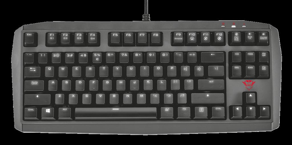 Trust GXT870 klávesnice US