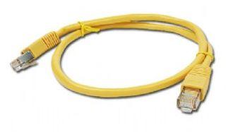 Gembird Patch kabel RJ45, cat. 5e, FTP, 0.5m, žlutý