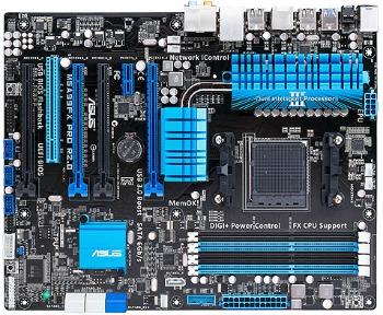ASUS M5A99FX PRO R2.0, 990FX, DDR3-1866, SATA3, GBLAN, ATX