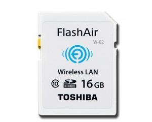 Toshiba SDHC karta 16GB Class 10 Flash Air Wifi