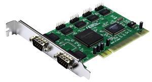 Unitek PCI6S řadič PCI, 6x RS-232