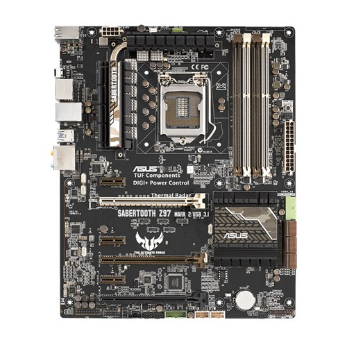ASUS SABERTOOTH Z97 MARK 2/USB 3.1, Z97, DualDDR3-1866, SATA3, HDMI, DP, ATX
