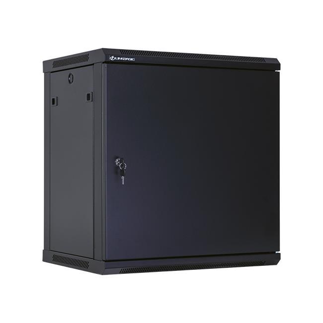 Linkbasic závěsná skříně 19'' 12U 600x450mm - černá