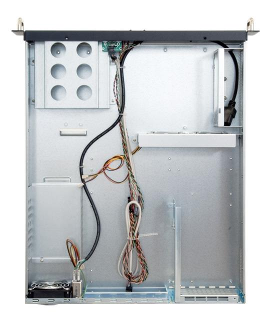 Chieftec IPC PC skříň 2U UNC-210TR-B, zdroj 400W (PSF-400A)