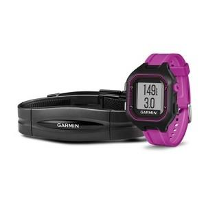 Garmin Forerunner 25 HR Black/Purple (vel. S)