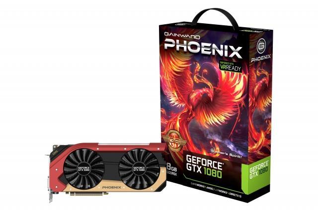 Gainward GeForce GTX 1080 Phoenix GS, 8GB GDDR5X (256 Bit), HDMI, DVI, 3xDP