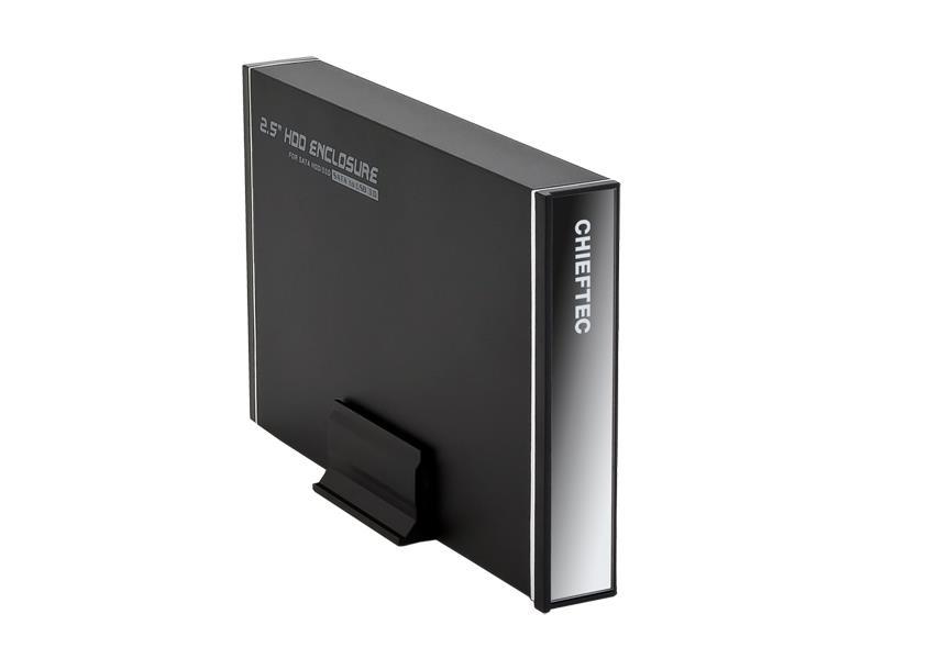 Cheiftec CEB-7025S externí box pro 2.5inch SATA HDD, USB 3.0