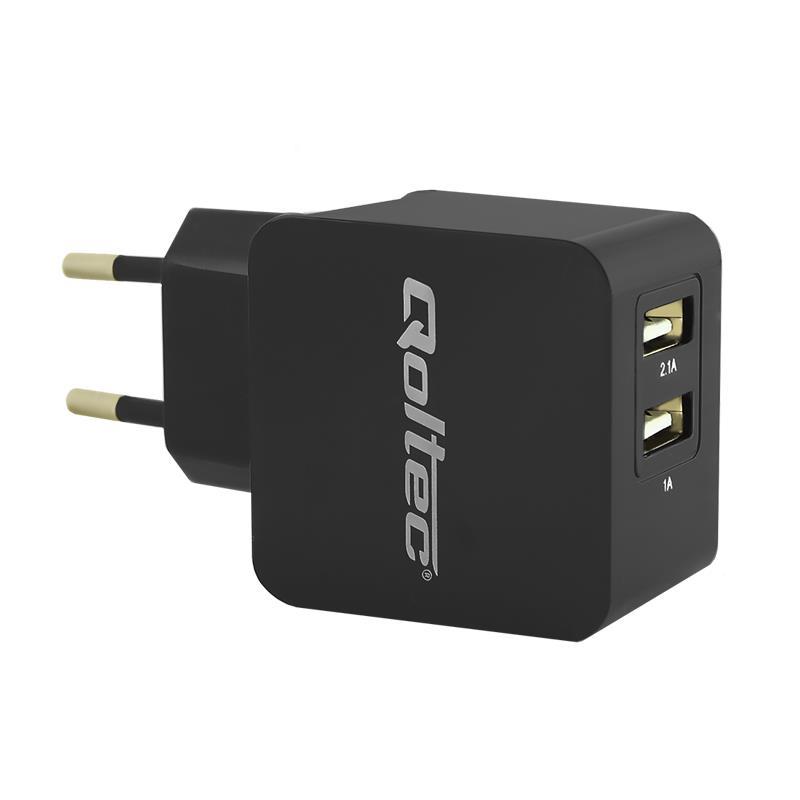 Qoltec AC adaptér pro tablet 5V | 2.1A | 2.5*0.7